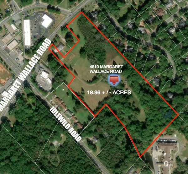 Incredible Development Opportunity on 18.96+/- Acres!!